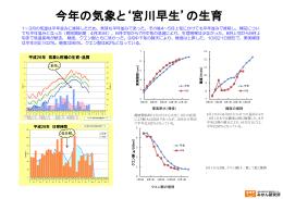 今年の気象と`宮川早生`の生育(PDF:679KB)