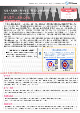 高速・広範囲計測できる「静電気非接触可視化技術」(PDF:543MB)