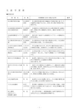 平成25年度社会教育事業計画(生涯学習係)(PDF:0161 KB)