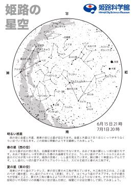 6月の星空