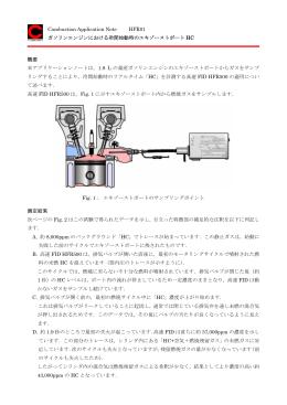 ガソリンエンジンにおける冷間始動時のエキゾーストポートHC