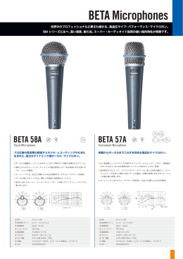 BETA Microphones