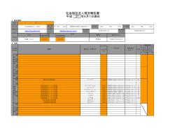 平成 27 社会福祉法人現況報告書