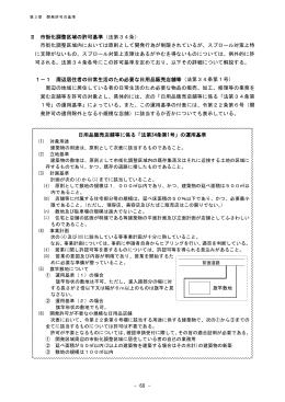 第3章2(開発許可の基準).