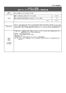 木材利用ポイント事業報告書(PDF)