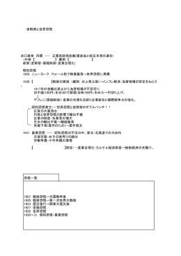 金解禁と世界恐慌 浜口雄幸 内閣 ・・・ 立憲民政党総裁(憲政