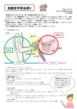 聴覚障害について