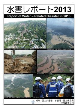 水害レポート2013 (PDF:5.08MB)