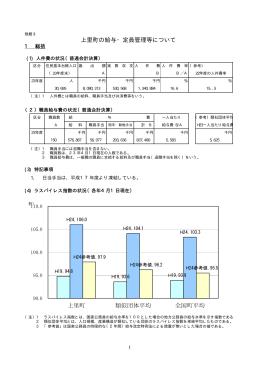 平成24年4月1日現在の上里町の給与・定員管理等について(PDF:60KB)