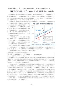 基準地震動―入倉・三宅式は過小評価
