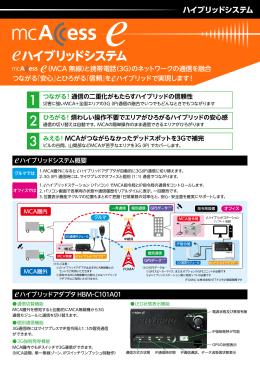 ハイブリッドシステム - エムシーアクセス・サポート