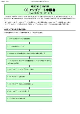 OS アップデート手順書