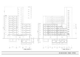 西大路五条店舗 断面図(参考図)