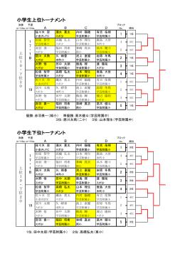 第40回法人化記念婦人・子供大会(2015-0802)小学生トーナメント