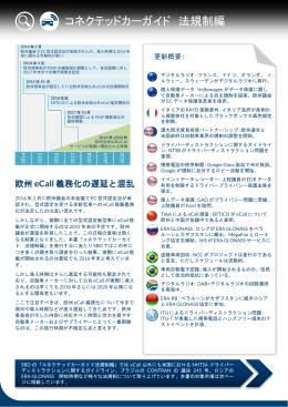 コネクテッドカーガイド 法規制編