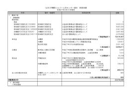 9 平成26年度財産目録 - 公益社団法人沖縄県シルバー人材センター連合