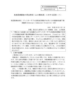 質問事項への回答(PDF)
