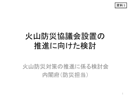 資料 5 - 内閣府