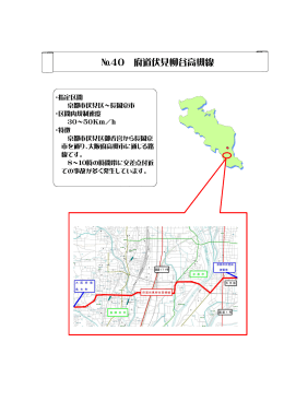 №40 府道伏見柳谷高槻線