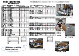 2013 登用試験対策会まとめ - G