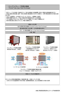 フィンアンドチューブ型熱交換器