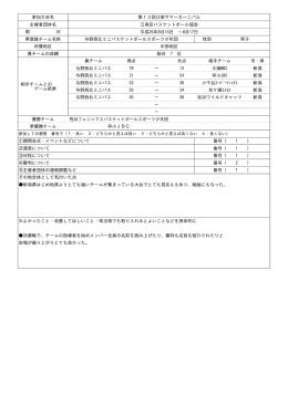 第13回江南サマーカーニバル - 埼玉県ミニバスケットボール連盟