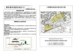 小野駅前地区計画ガイド
