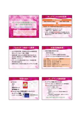 発表スライド:PDF - 早稲田大学大学院日本語教育研究科