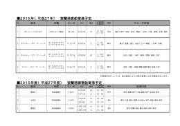 2015年客船等寄港予定(PDF:21KB)