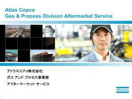 Atlas Copco Gas & Process Division Aftermarket