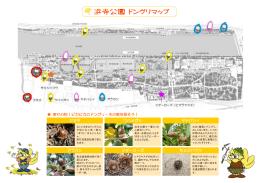 浜寺公園どんぐりマップ