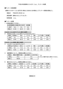 (イルミネーションアンケート結果) (PDF形式37kb)