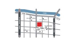 トレードピア淀屋橋 土佐堀川 地下鉄堺筋線 北浜駅 地下鉄御堂筋線