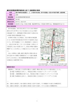 国分寺都市計画道路3・2・8号府中所沢線