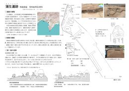 蒲生遺跡現地説明会資料 2015年6月28日