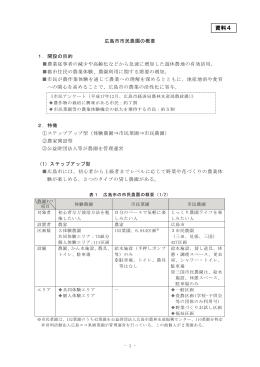 資料4広島市市民農園の概要(PDF:349KB)