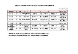 """""""茨城弁""""交通安全川柳コンテスト過去入賞作品"""
