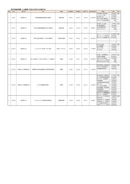 平成24年度入札結果 (物品8月分)(66 KB)