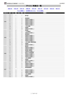 特集名PDF - 東京国立近代美術館