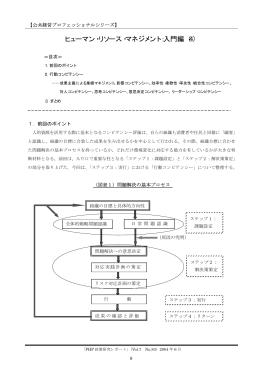ヒューマン・リソース・マネジメント:入門編(4)
