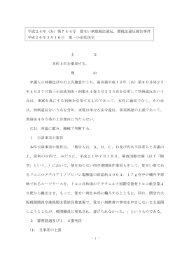 全文 - 裁判所