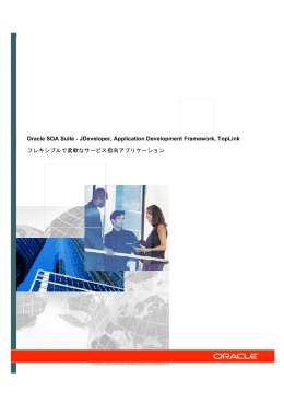 Oracle SOA Suite S JDeveloper, Application Development