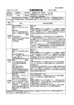 国語 - 東京都立成瀬高等学校