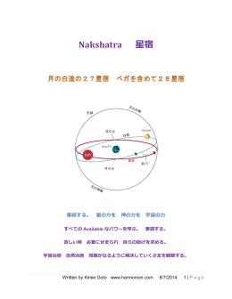 Nakshatra 星宿
