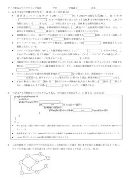 2009年試験問題
