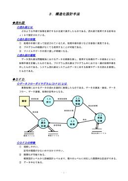 3.構造化設計手法