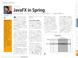 JavaFX in Spring