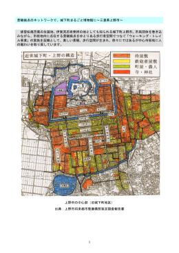 景観拠点のネットワークで、城下町まるごと博物館に∼三重県上野市