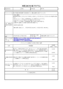 プロジェクト3 朝日町観光物産振興・交流促進ビジョン(PDF:15KB)