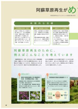 阿蘇の草原再生がめざすもの - 阿蘇草原再生プロジェクト